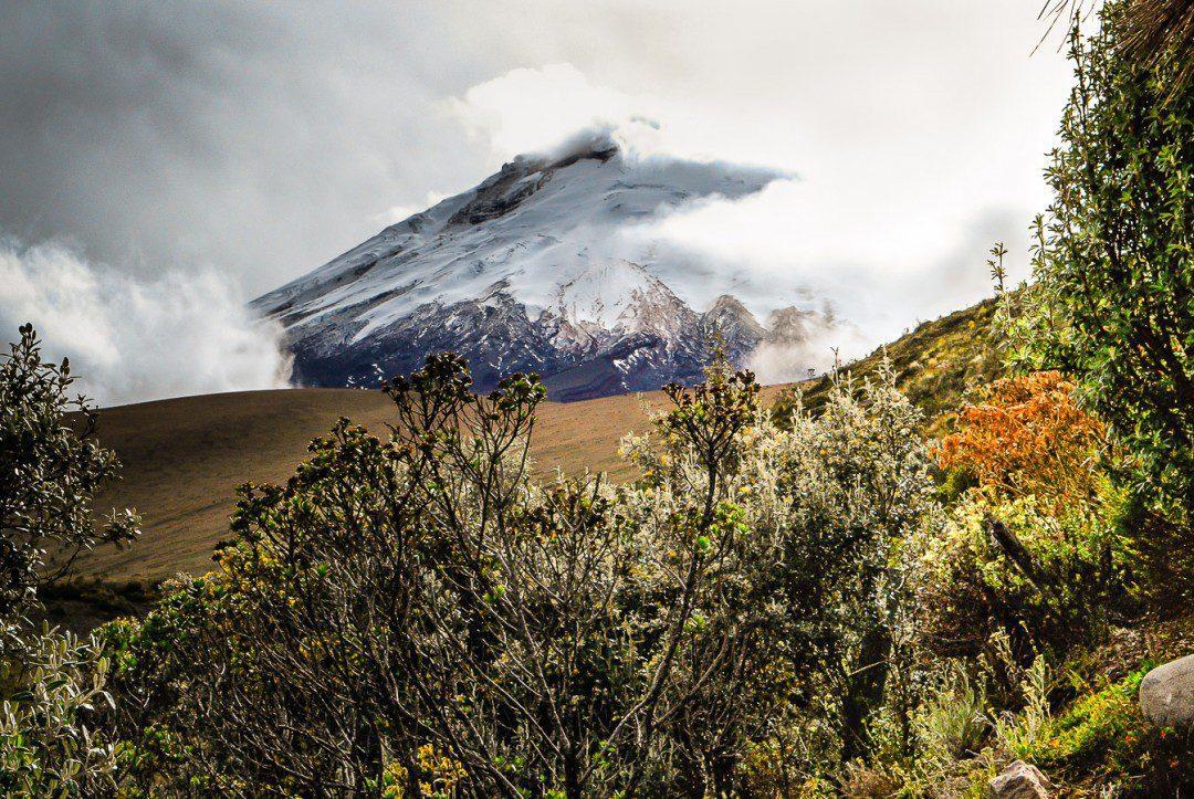 South Face Cotopaxi volcano