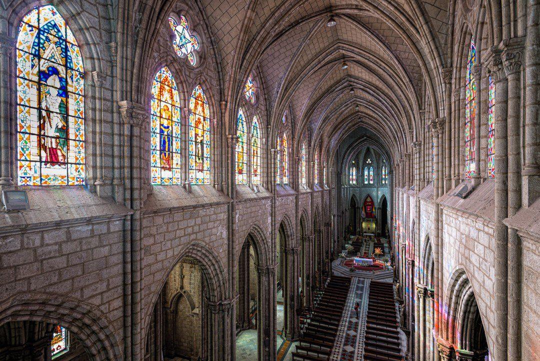 Quito Basilica central nave