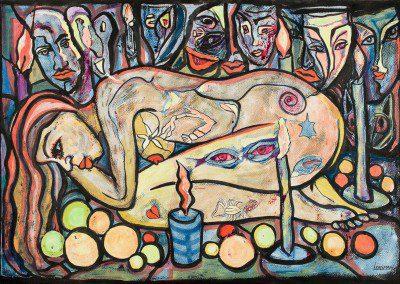 La Ofrenda a Yemanja - Artist : Larissa Oksman