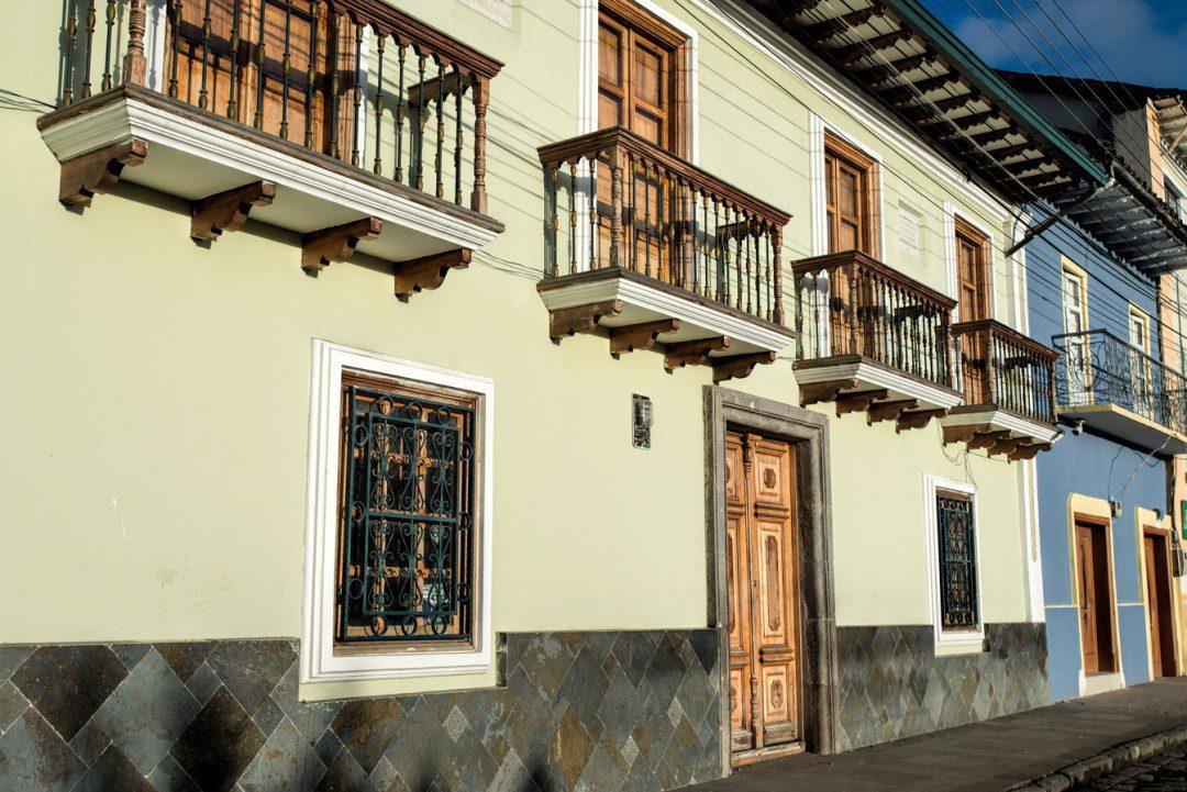 San Gabriel houses colorful facades