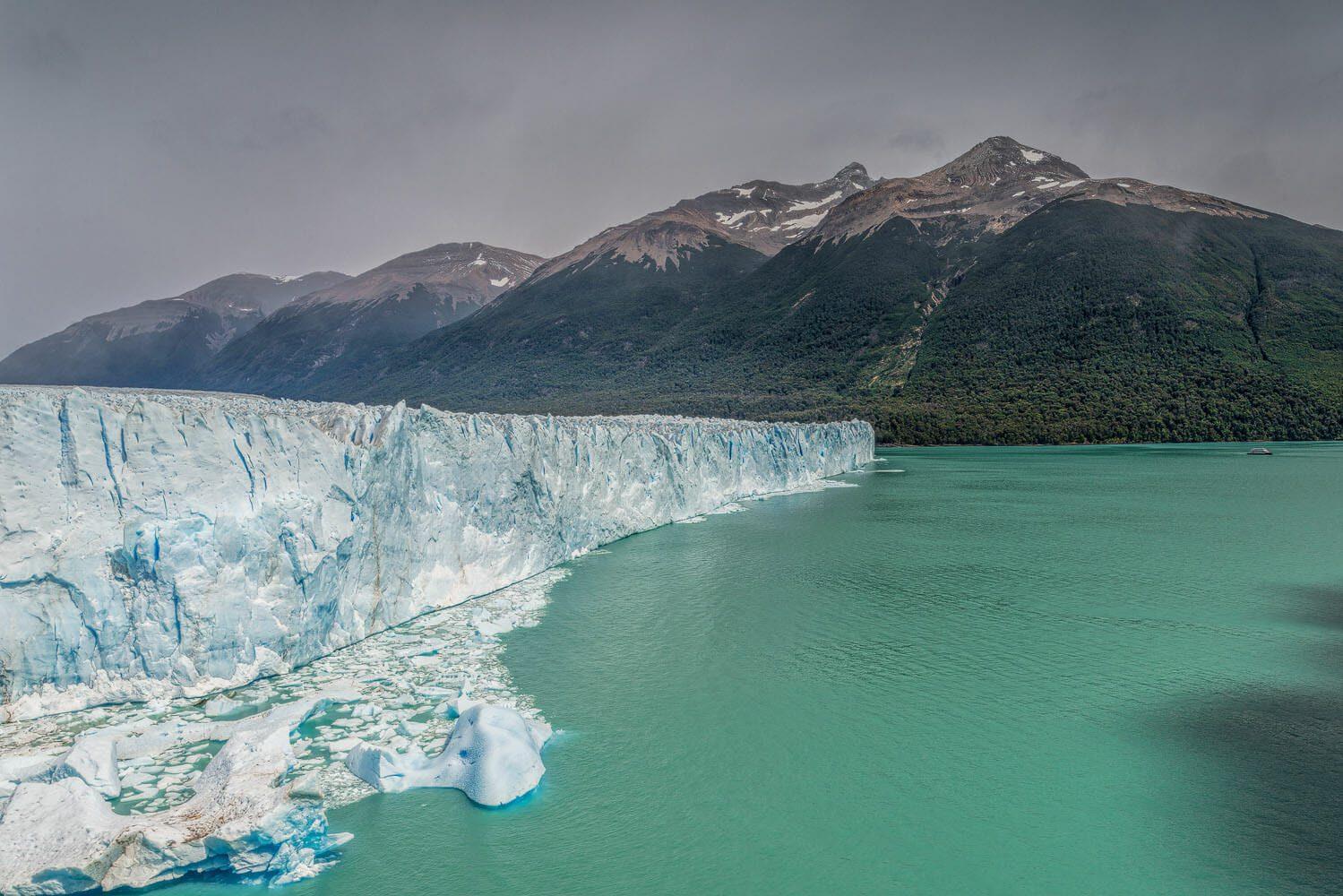 Perito Moreno glacier and Lago Argentina