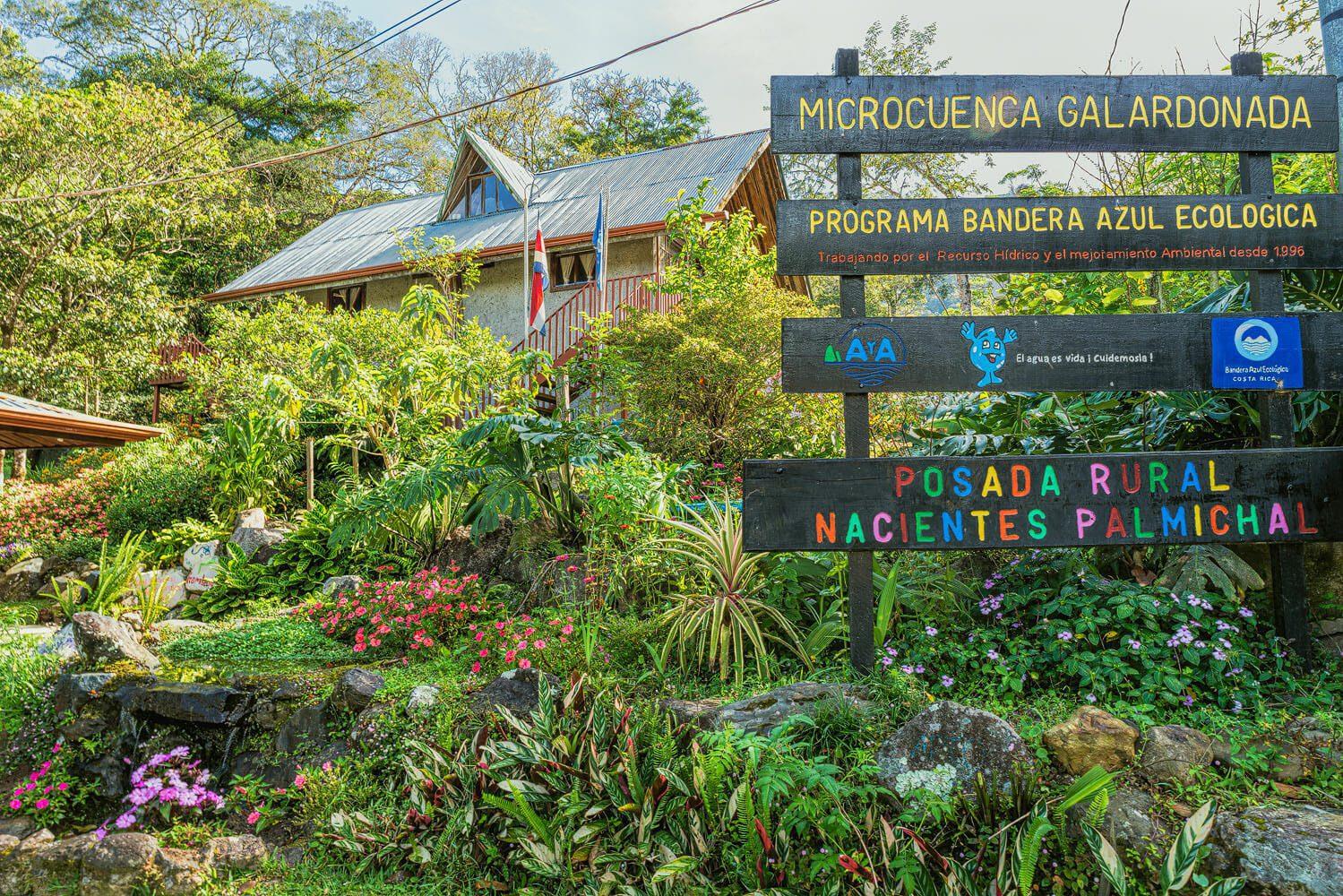 Posada Rural Nacientes Palmichal - San Pablo - Costa Rica