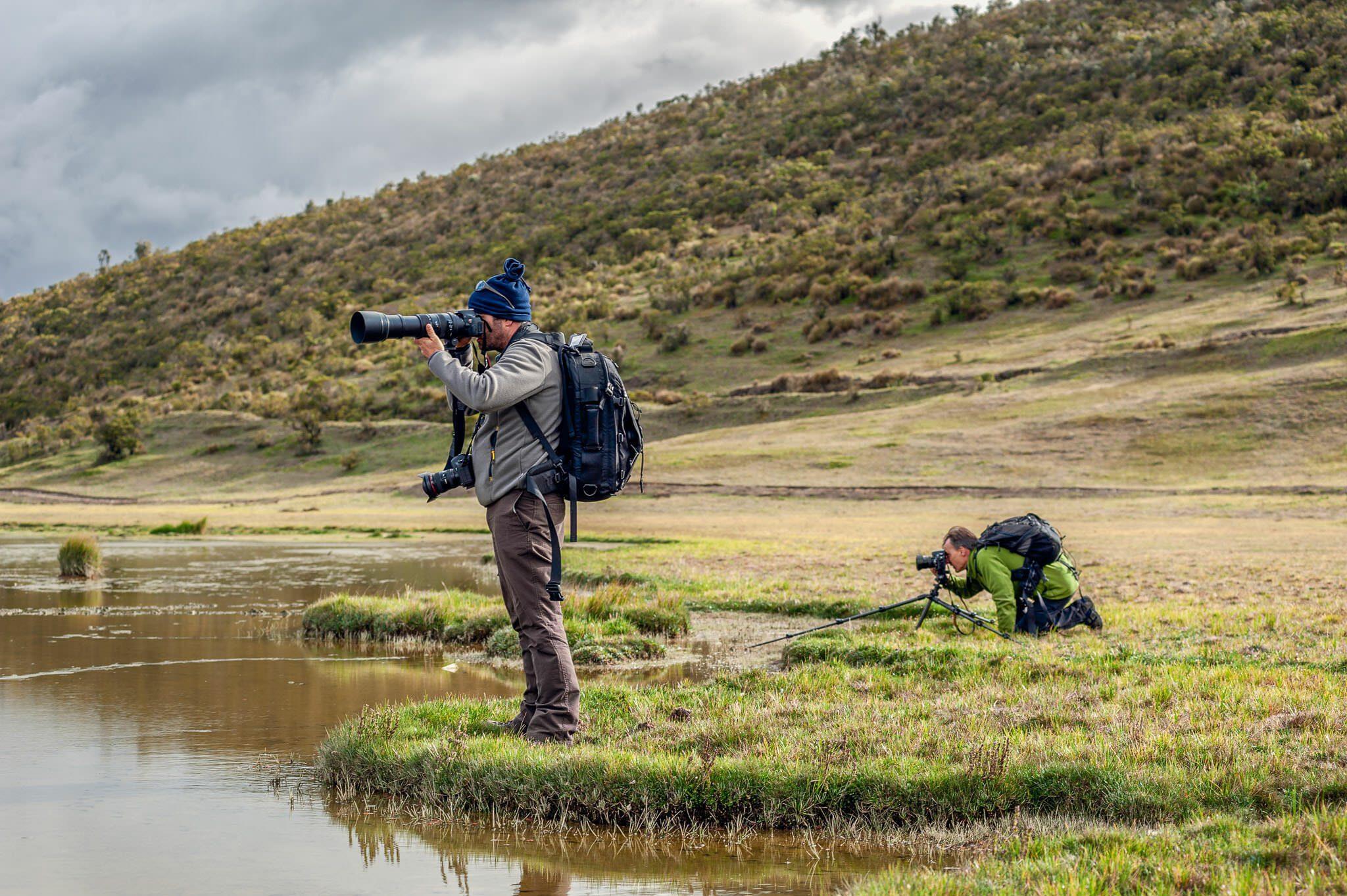 Guiding photographers
